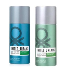 Benetton United dreams Go Far and Be Strong Body Spray - For Men  (300 ml)